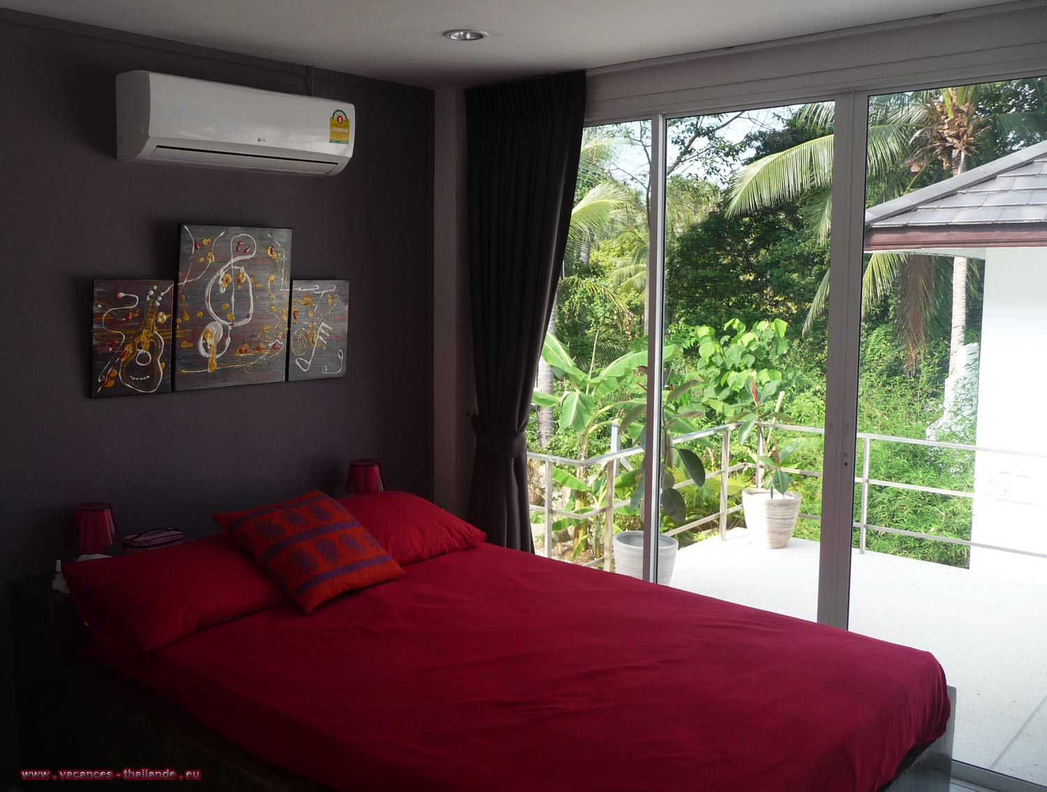 Photo 26 English grand large 1.50m bed, its Italian shower in Koh Samui, Suratthani, Thailand