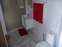 rental price studio apartment zen Big bathroom clean and tiled bathrooms